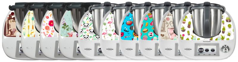 Collection Prestistick stickers Thermomix TM5