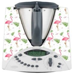 Stickers Thermomix TM31 flamant rose