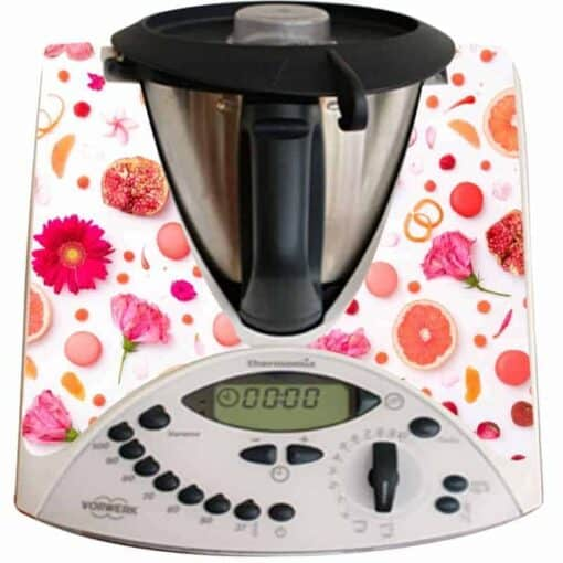 Stickers Thermomix TM31 pamplemousse