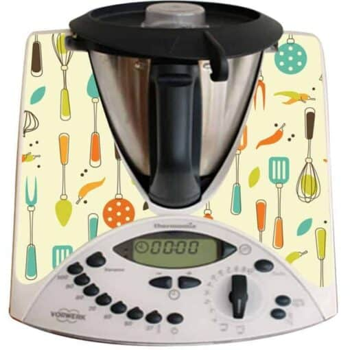 Stickers Thermomix TM31 ustensiles