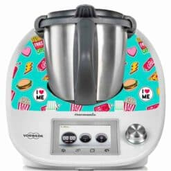 Sticker pour Thermomix TM5 fast food