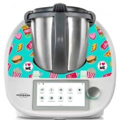 Stickers Thermomix TM6 fast food